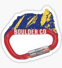 Boulder Colorado Sticker