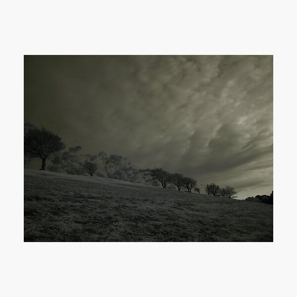 The Lonely Hill Photographic Print