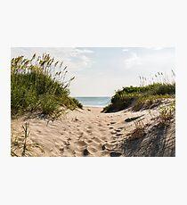Nags Head Beach Access Photographic Print