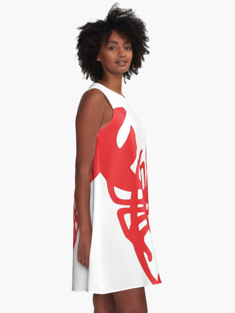 Alternate view of Red Lobster A-Line Dress