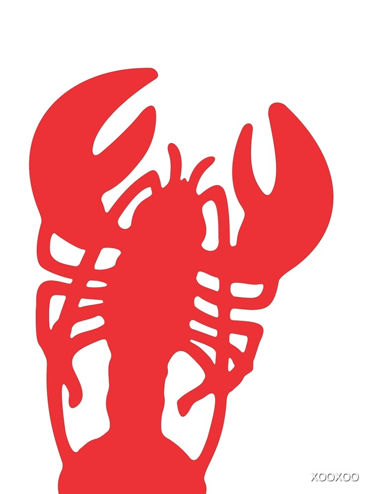 Red Lobster by XOOXOO