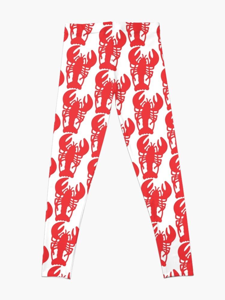 Alternate view of Red Lobster Leggings