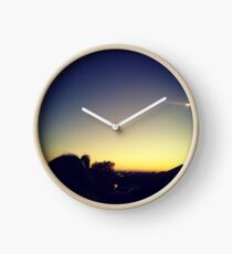 Pig tails of sunsets missed Clock