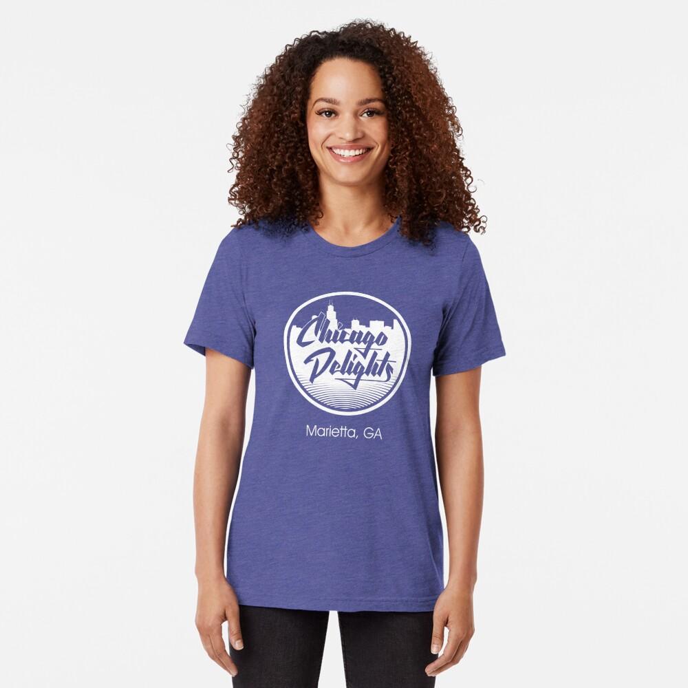 Chicago Delights Tri-blend T-Shirt