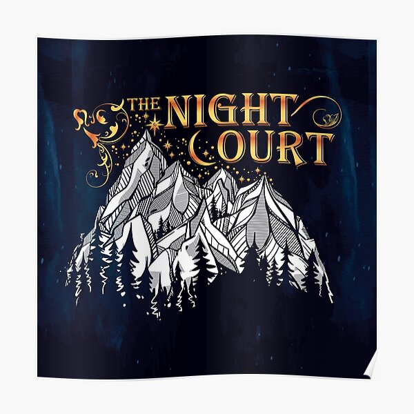 A Court of Wings and Ruin, The Night Court Poster
