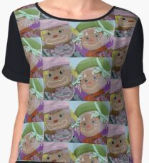 clown dolls colourful Women's Chiffon Top