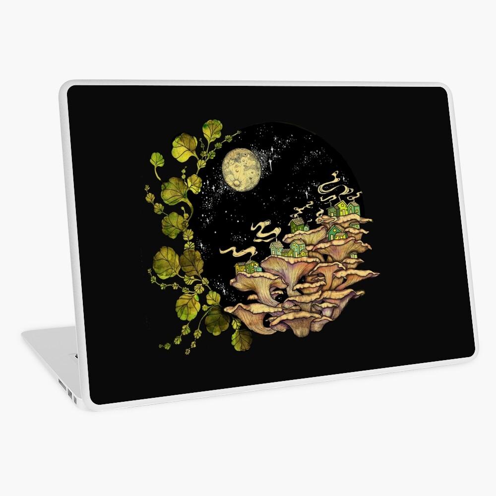 Village || Surreal Illustration by Chrysta Kay Laptop Skin
