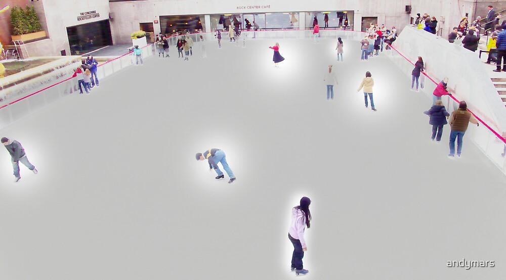 Digital Ice skaters by andymars