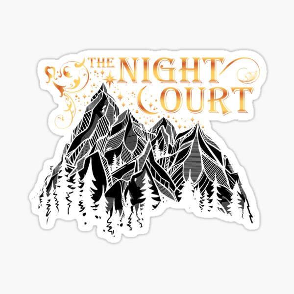A Court of Wings and Ruin, The Night Court Sticker