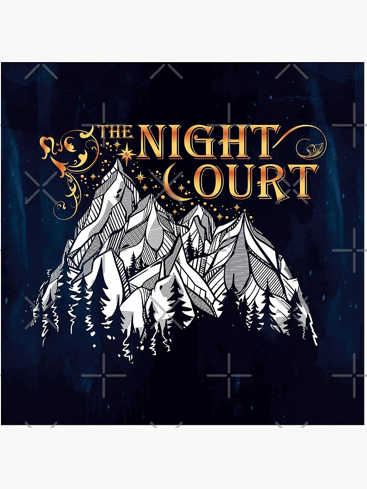 A Court of Wings and Ruin, The Night Court by yairalynn