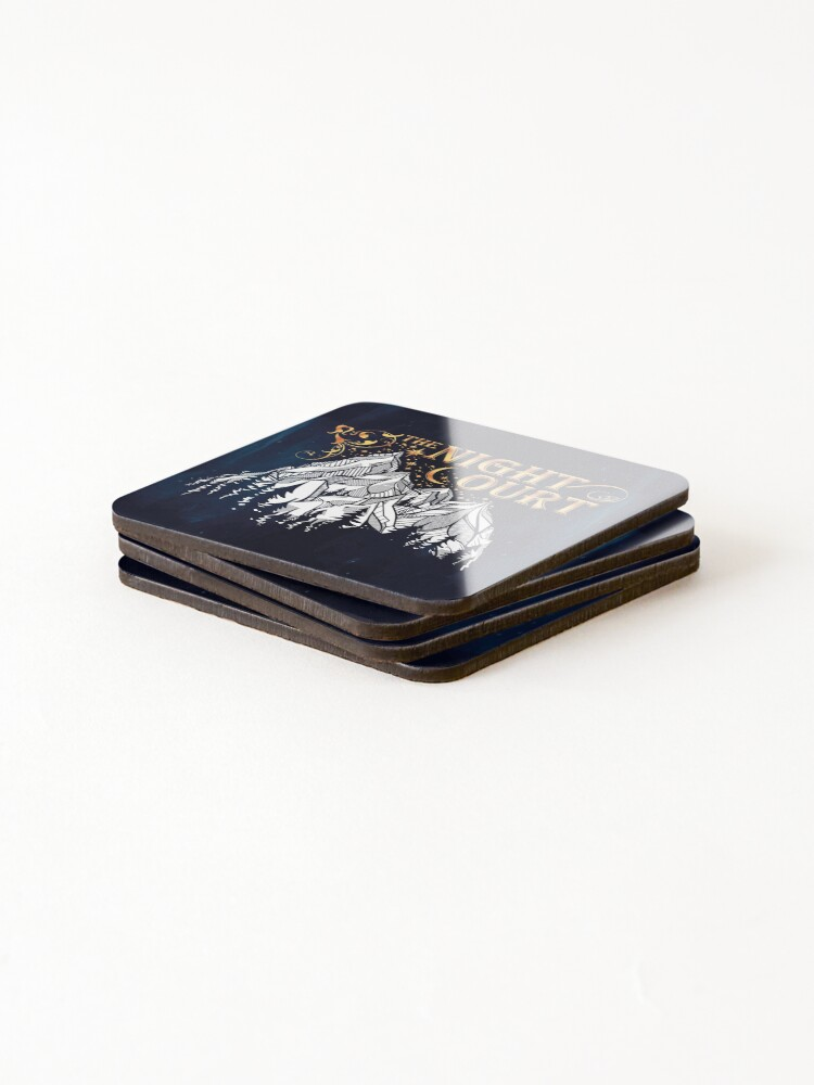 Alternate view of A Court of Wings and Ruin, The Night Court Coasters (Set of 4)