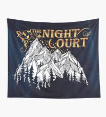 A Court of Wings and Ruin, The Night Court Wall Tapestry