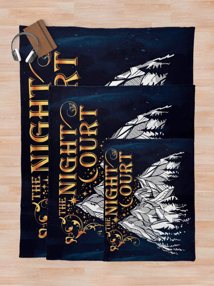 Alternate view of A Court of Wings and Ruin, The Night Court Throw Blanket