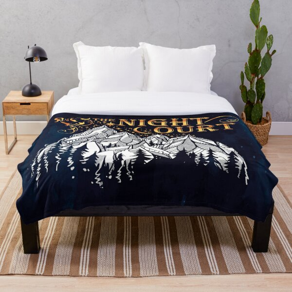 A Court of Wings and Ruin, The Night Court Throw Blanket
