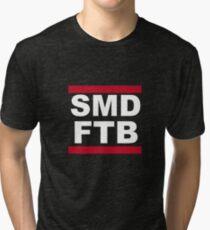 SMD FROM THE BACK (FTB) RUN DMC - Desus & Mero Tri-blend T-Shirt