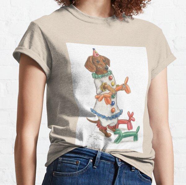 Dachshund Clowning Around Classic T-Shirt