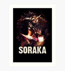 League of Legends SORAKA Art Print