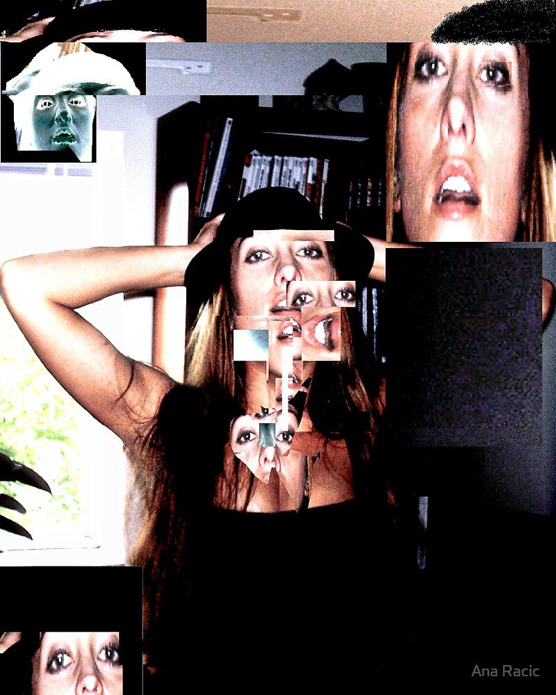 My Crazy Collage I by Ana Racic