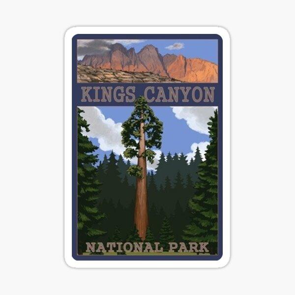 Kings Canyon National Park California, USA Travel Decal Sticker
