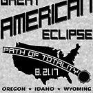 American Solar Eclipse by EthosWear