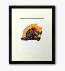 Ratling Executioner Framed Print