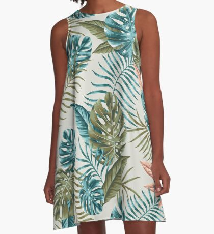 Undiscovered tropics A-Line Dress