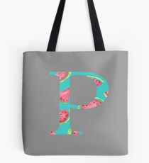Rho Watermelon Letter Tote Bag