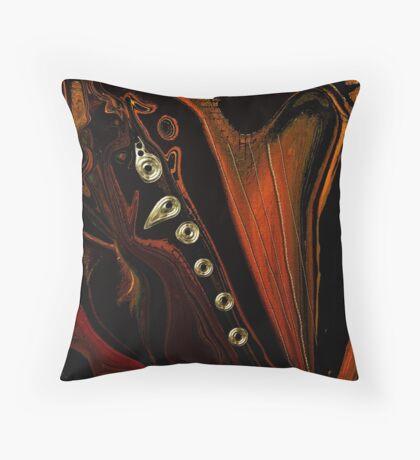 The Hombre The Musician Throw Pillow