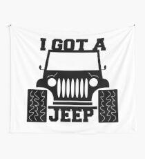 I Got A Jeep Wall Tapestry