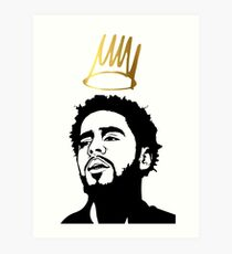 J. cole 2 Exlusive T-shirt Art Print