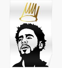 J. cole 2 Exlusive T-shirt Poster