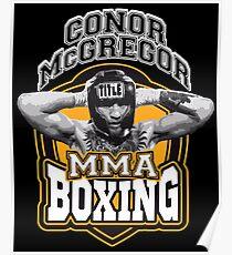 Conor Mcgregor MMA Boxing Poster