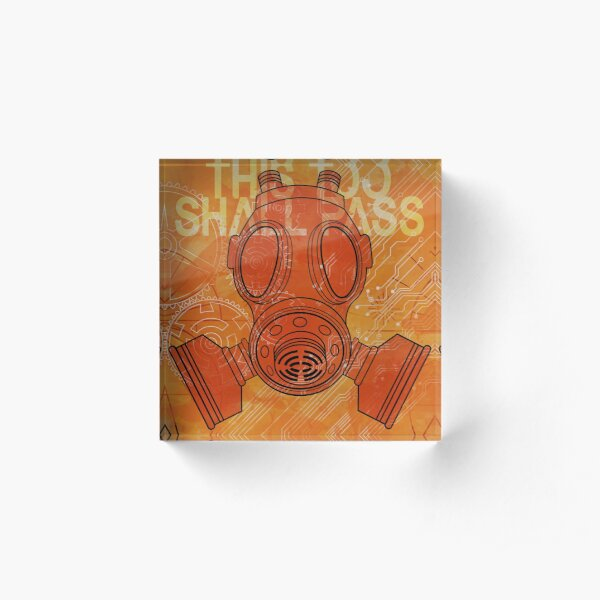 This Too Shall Pass Acrylic Block