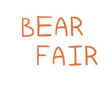 Bear fair by MadeleineFoley