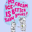 My ice-cream is better than yours by #PoptART products from Poptart.me