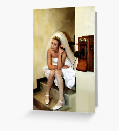 I JUST CALLED TO SAY I LOVE YOU Greeting Card