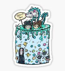 Spirited Cake Sticker