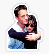 Friends TV Matthew Perry Courteney Cox  Sticker