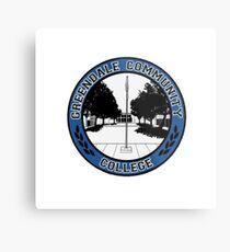 Greendale - Logo Metal Print