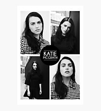 Katie McGrath Squares Photographic Print