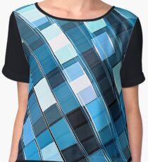 Technology pattern - abstract digitally generated image Women's Chiffon Top