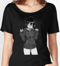 Anime girl Women's Relaxed Fit T-Shirt