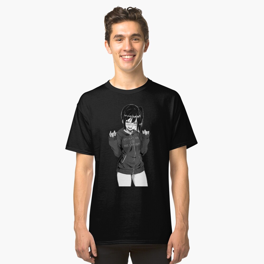 Anime girl Classic T-Shirt Front