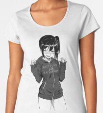 Anime Frau Frauen Premium T-Shirts