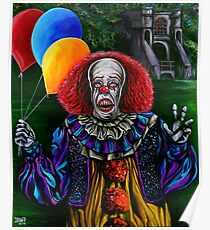 Pennywise (Stephen King IT) Poster