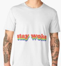 Stay Woke Men's Premium T-Shirt