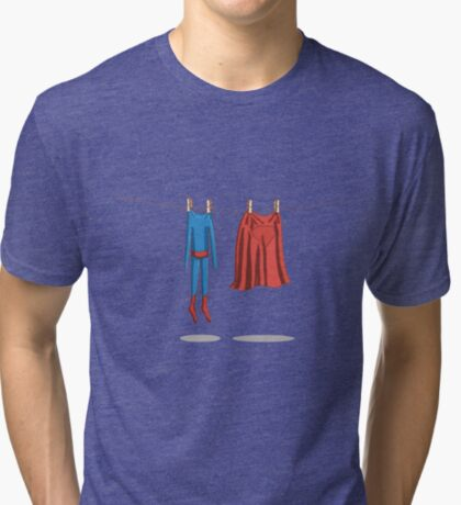 Super laundry Tri-blend T-Shirt