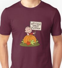Welcome Great Pumpkin Unisex T-Shirt