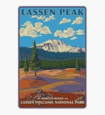Lassen Volcanic National Park Painted Dunes California Travel Decal Photographic Print