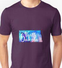 North Dakota - Watercolor T-Shirt